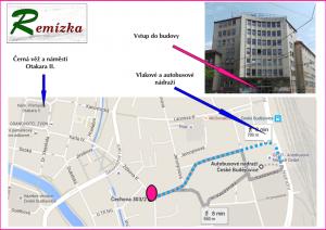 REMÍZKA_Mapa-popis cesta